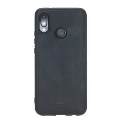Barchello MW Deri Telefon Kılıfı Huawei P20 Lite Siyah