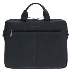 Bouletta Apollo Deri 16 inç Notebook Evrak Çantası FL01 Siyah