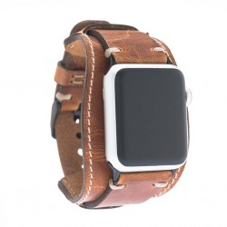 Bouletta Apple Watch Deri Cuff Kordon 42/44mm V18 Pulsar