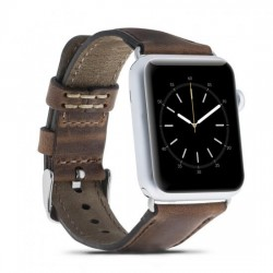 Bouletta Apple Watch Deri Kordon 42-44mm G2 Kahverengi