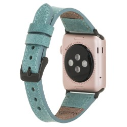 Bouletta Apple Watch Slim Deri Kordon 42-44mm G22/SM3 Siyah