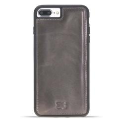 Bouletta FXC Deri Telefon Kılıfı iPhone 7-8 Plus V23 Füme