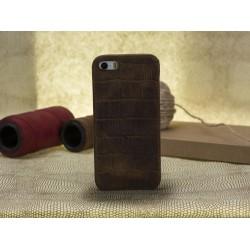 Bouletta Ultimate Jacket-CC Deri Telefon Kılıfı iPhone 5-5s-SE  D2 Kahve