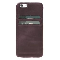 Bouletta Ultimate Jacket-CC Deri Telefon Kılıfı iPhone 6-6s CZ11 Mor