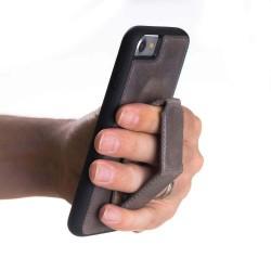 Bouletta FXC Cess Arka Kapak Standlı iPhone7-8 Deri Telefon Kılıfı V23 Füme