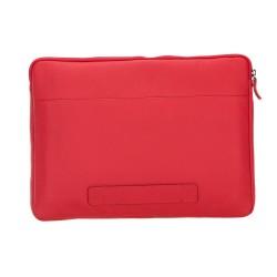 Bouletta Awe Deri Tablet/Bilgisayar El Çantası 13inç Drop2 Kırmızı