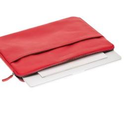 Bouletta Awe Deri Tablet/Bilgisayar El Çantası 15inç Drop2 Kırmızı