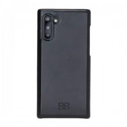 Bouletta F360 Deri Telefon Kılıfı-Arka Kapak-Samsung Note10 RST1 Siyah