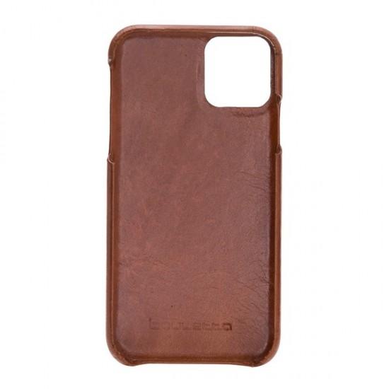 Bouletta F360 Deri Telefon Kılıfı iPhone 11 Pro RST2EF Taba