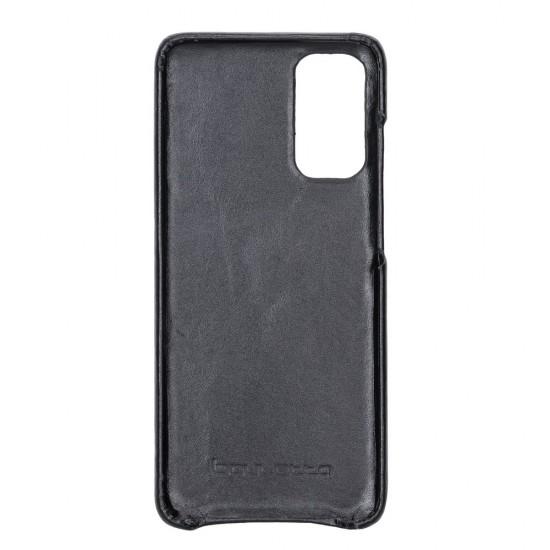 Bouletta F360 Deri Telefon Kılıfı Samsung S20 RST1 Siyah