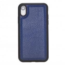 Bouletta FXC Deri Telefon Kılıfı iPhone XR Mavi