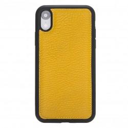 Bouletta FXC Deri Telefon Kılıfı iPhone XR Sarı