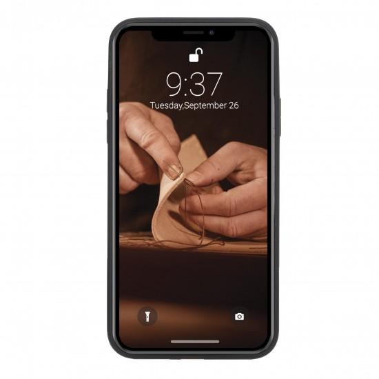Bouletta FXC Deri Telefon Kılıfı iPhone XS Max Mavi