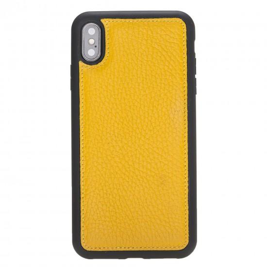 Bouletta FXC Deri Telefon Kılıfı iPhone XS Max Sarı