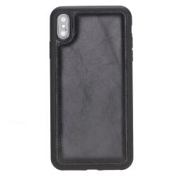 Bouletta FXC Deri Telefon Kılıfı iPhone XS Max Siyah