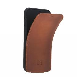 Bouletta FlipCase Slim Deri Telefon Kılıfı iPhone XR RST2EF Taba