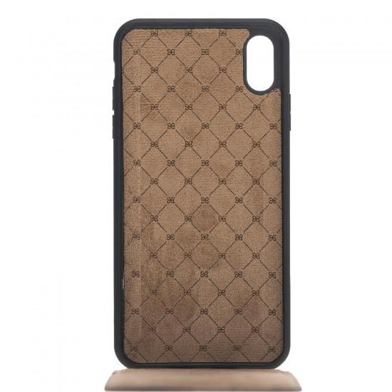 Bouletta FlipCase Slim Deri Telefon Kılıfı iPhone XS Max RST1 Siyah