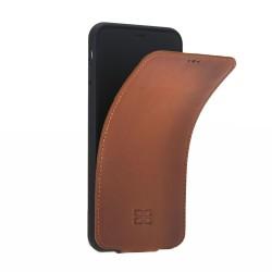 Bouletta FPC Kartlıklı Slim Deri Telefon Kılıfı iPhone XS Max-RST2EF Taba