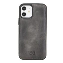 Bouletta FXC Deri Telefon Kılıfı iPhone 12/12 Pro TN18EF Gri
