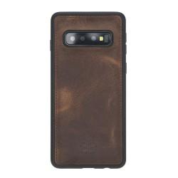 Bouletta FXC Deri Telefon Kılıfı Samsung S10 G2 Kahve