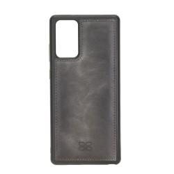 Bouletta FXC Deri Telefon Kılıfı Samsung Note 20 TN18EF Gri