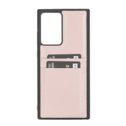 Bouletta FXC-CC Deri Telefon Kılıfı Samsung Note 20 Ultra NU2 Pembe