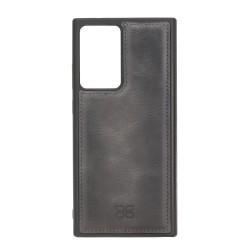 Bouletta FXC Deri Telefon Kılıfı Samsung Note 20 Ultra TN18EF Gri
