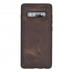 Bouletta FXC Deri Telefon Kılıfı Samsung S10+ G2 Kahve