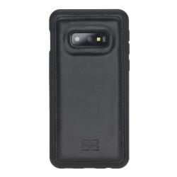 Bouletta FXC Arka Kapak  Deri Telefon Kılıfı Samsung S10E RST1 Siyah