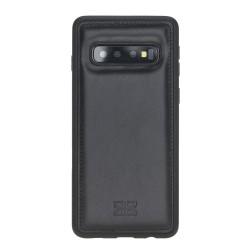 Bouletta FXC Deri Telefon Kılıfı Samsung S10 RST1 Siyah