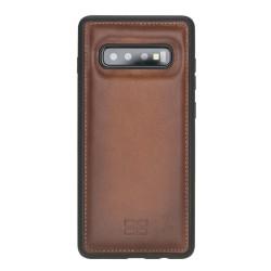 Bouletta FXC Deri Telefon Kılıfı Samsung S10+ RST2EF Taba