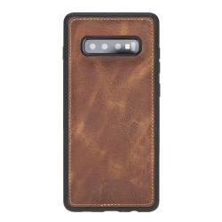 Bouletta FXC Deri Telefon Kılıfı Samsung S10 TN11 Taba