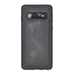 Bouletta FXC Deri Telefon Kılıfı Samsung S10 TN18 Gri
