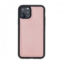 Bouletta FXC Deri Telefon Kılıfı iPhone 11 Pro 5.8-NU2 Pembe