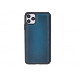 Bouletta FXC Deri Telefon Kılıfı iPhone 11 ProMax 6.5 BRN4EF Mavi