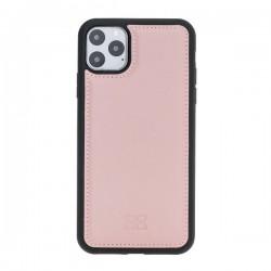 Bouletta FXC Deri Telefon Kılıfı iPhone 11 ProMax 6.5-NU2 Pembe