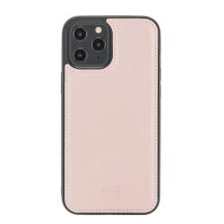 Bouletta FXC Deri Telefon Kılıfı iPhone 12 Pro Max NU2 Pembe