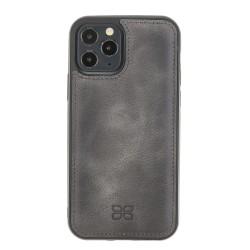 Bouletta FXC Deri Telefon Kılıfı iPhone 12 Pro Max TN18EF Gri