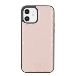 Bouletta FXC Deri Telefon Kılıfı iPhone 12/12 Pro NU2 Pembe