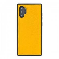 Bouletta FXC Deri Telefon Kılıfı Samsung Note 10+ FL12 Sarı