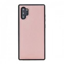 Bouletta FXC Deri Telefon Kılıfı Samsung Note 10+ NU2 Pembe