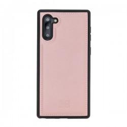 Bouletta FXC Deri Telefon Kılıfı Samsung Note10 NU2 Pembe