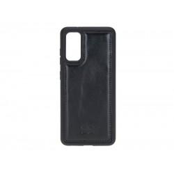 Bouletta FXC Deri Telefon Kılıfı Samsung S20 RST1 Siyah