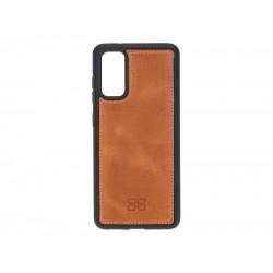 Bouletta FXC Deri Telefon Kılıfı Samsung S20 TN11 Taba