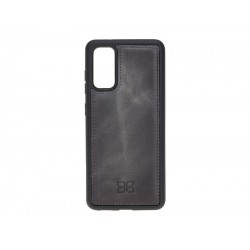 Bouletta FXC Deri Telefon Kılıfı Samsung S20 TN18EF Gri