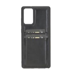 Bouletta FXC-CC Deri Telefon Kılıfı Samsung Note 20  RST1 Siyah