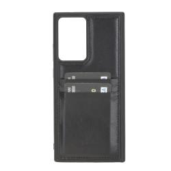 Bouletta FXC-CC Deri Telefon Kılıfı Samsung Note 20 Ultra RST1 Siyah