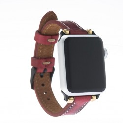 Bouletta Apple Watch Deri Kordon 38-40-42-44mm İnce V4EF