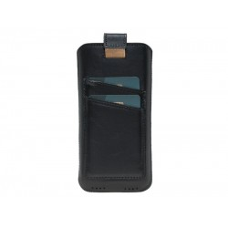 Bouletta Multi Case-CC Deri Telefon Kılıfı Samsung Note 9 RST1 Siyah