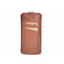 Bouletta Multi Case-CC Deri Telefon Kılıfı Samsung S10+ RST2EF Taba
